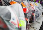 Após acidente no treino e tempo ruim, etapa britânica de MotoGP é cancelada - Reprodução/Twitter/MotoGP