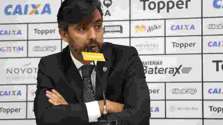 Gustavo Noronha deixou o cargo de vice de futebol do Botafogo por conta de resultados ruins - VITOR SILVA/SSPRESS/BOTAFOGO