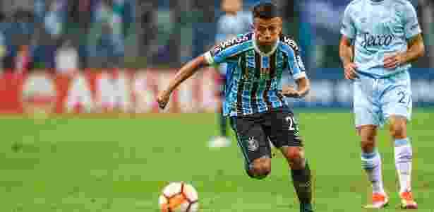 Volante fez um gol e foi destaque em jogo contra o Sport, no sábado - Lucas Uebel/Grêmio