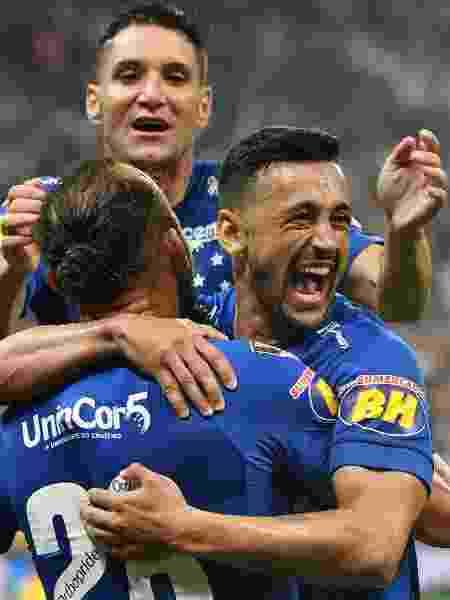 Robinho, do Cruzeiro - NELSON ALMEIDA/AFP - NELSON ALMEIDA/AFP