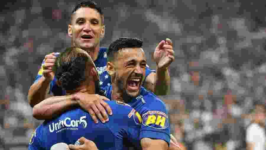 Com boa recordação da Arena Corinthians, Cruzeiro volta ao palco do hexa para tentar sair da degola no Brasileiro - NELSON ALMEIDA/AFP