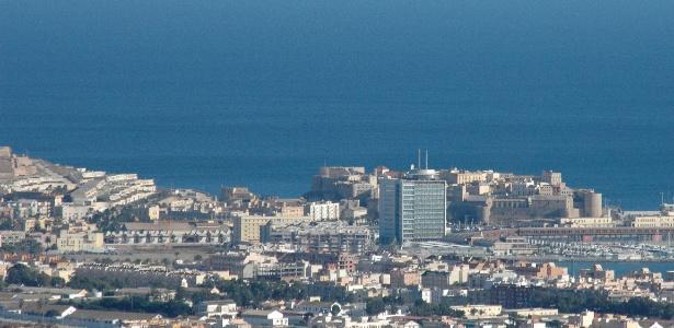 Cidade do UD Melilla, adversário do Real, é um enclave espanhol no norte da África - Wikimedia Commons