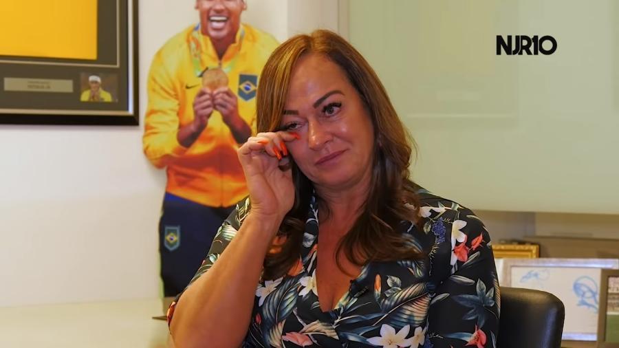 Nadine Gonçalves temeu por Neymar pai após batida de carro em 1992, quando filho tinha quatro meses - Reprodução