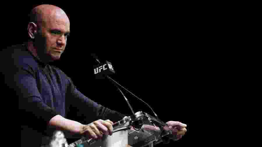 Dana White, presidente do UFC, cogita futuramente expandir os seus negócios para a NFL - Jeff Zelevansky/Getty Images