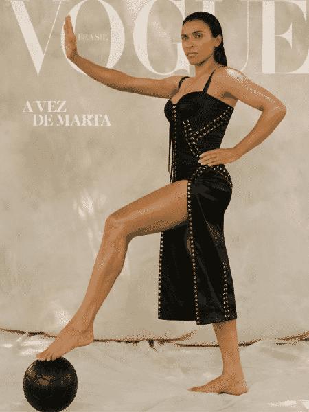 Marta estampa capa da edição brasileira da Vogue - Divulgação/Vogue Brasil
