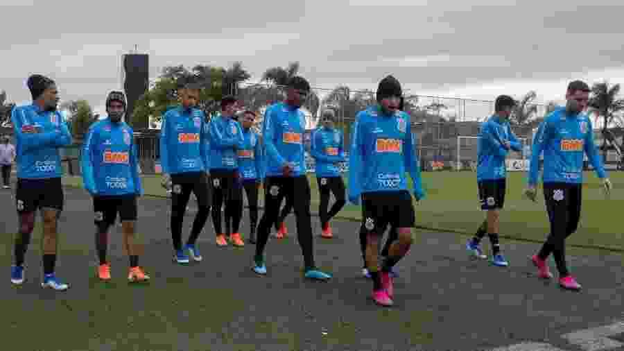 Todos os 31 nomes do elenco treinam sem restrições e têm chances de estar no jogo de domingo - Daniel Augusto Jr/Ag. Corinthians