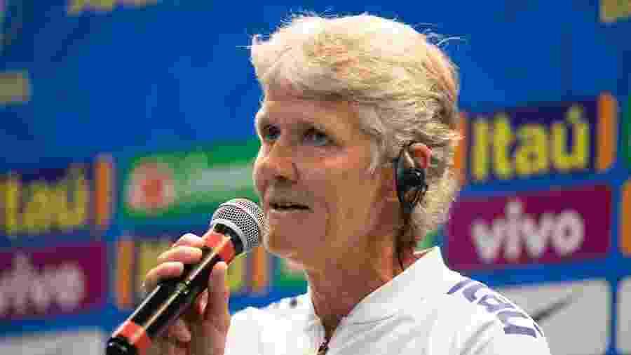 Pia Sundhage foi apresentada como técnica da seleção feminina - Lucas Figueiredo/CBF
