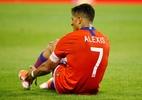 Lesão de Alexis Sánchez poderá afastá-lo por até três meses, diz Rueda - Javier Barbancho/Reuters