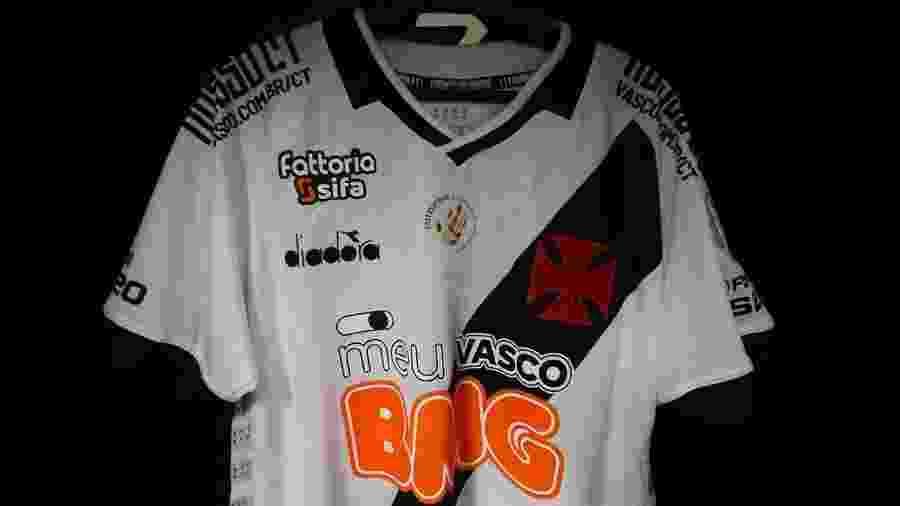 Vasco terá logo do Observatório da Discriminação Racial no Futebol no esterno da camisa contra o Flamengo - Rafael Ribeiro / Vasco