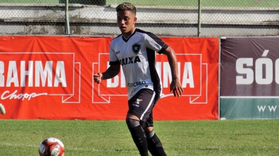 Ramonzinho chegou ao Botafogo no meio de 2018 - Divulgação Botafogo