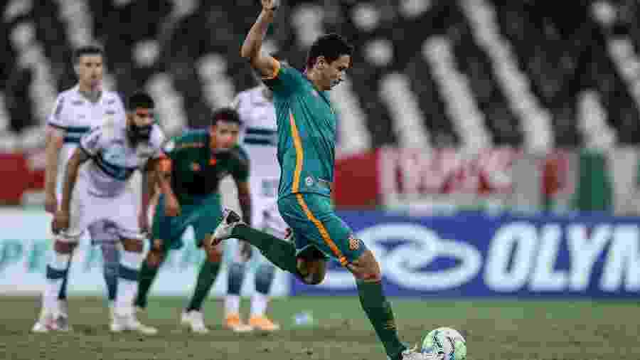 Camisa 10 do Fluminense, Ganso testou positivo para coronavírus após a goleada por 4 a 0 sobre o Coritiba - Lucas Merçon/Fluminense FC