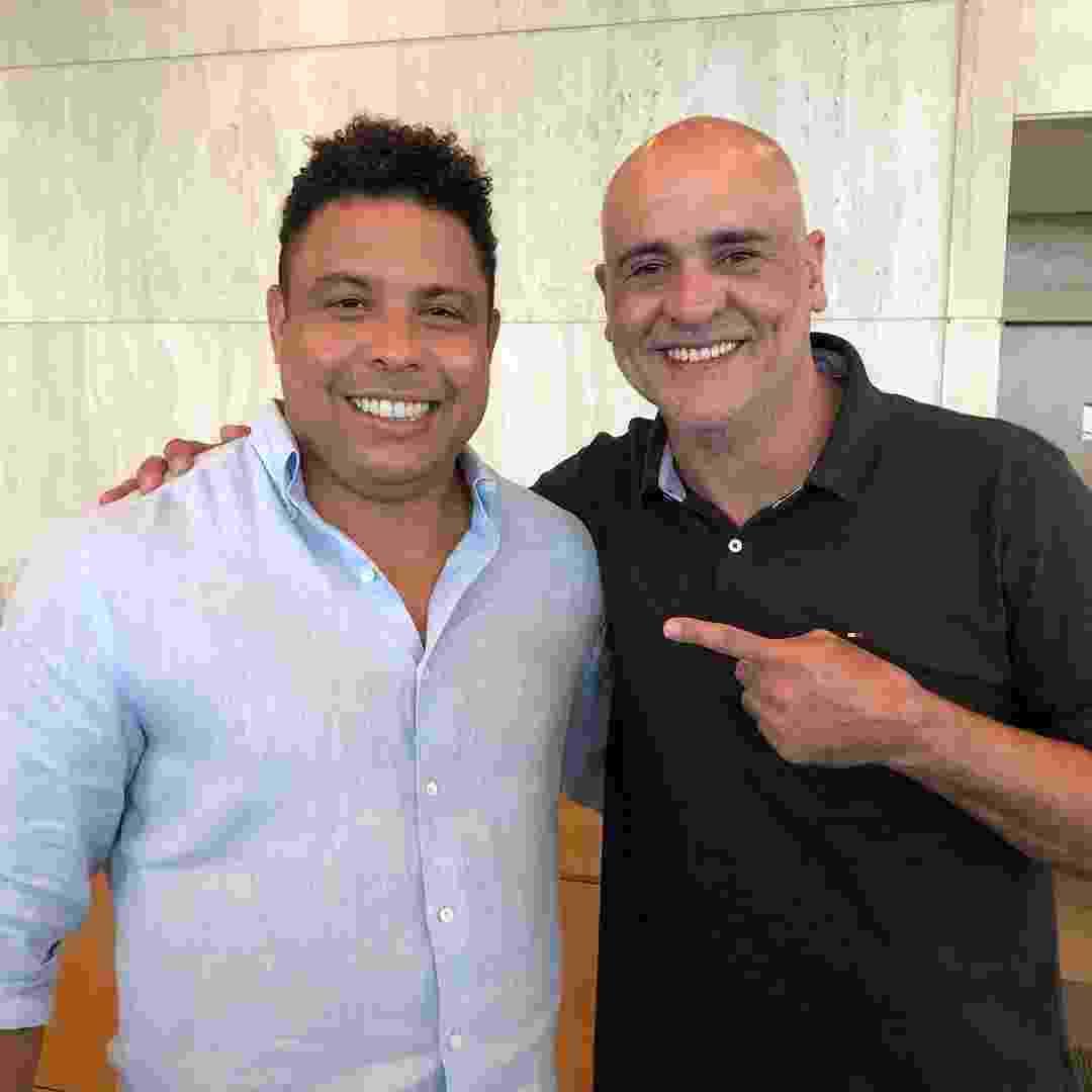 Marcos e Ronaldo Fenômeno  - undefined