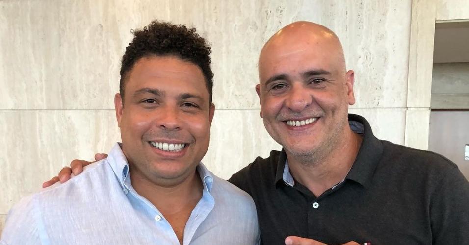 Marcos e Ronaldo Fenômeno