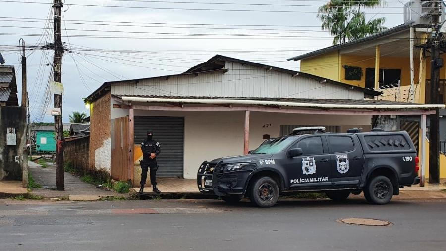 Polícia afirma ter sido recebida a tiros; testemunha contesta versão - PM-AP/Divulgação