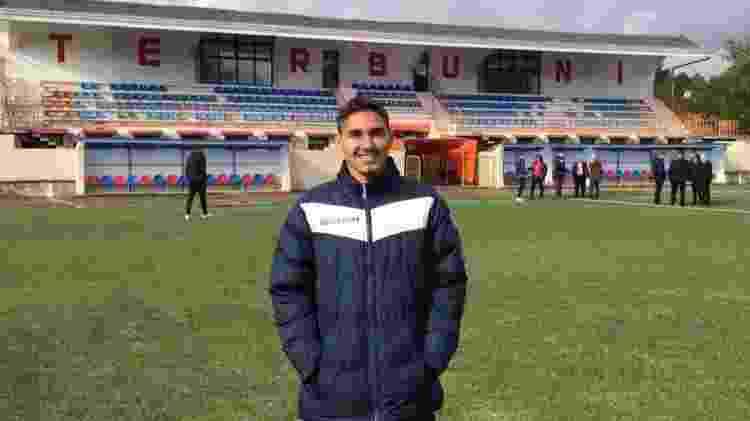 Adalto Silva atuou durante um semestre na 2ª divisão da Albânia - Acervo pessoal - Acervo pessoal
