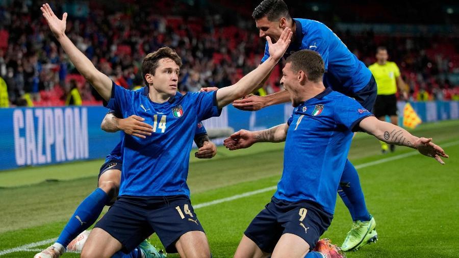 Itália já tem 12 gols na Eurocopa; recorde histórico é de 14 - Divulgação