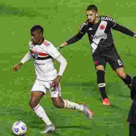 Orejuela, durante a partida entre São Paulo e Vasco - Marcello Zambrana/AGIF - Marcello Zambrana/AGIF