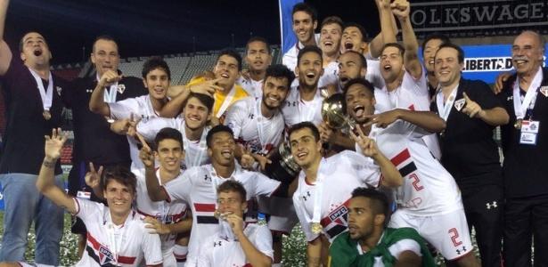 Luiz Araujo esteve no time do São Paulo que conquistou a Libertadores sub-20