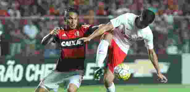 Guerrero foi fundamental na vitória do Flamengo sobre o Internacional em Cariacica - Gilvan de Souza/ Flamengo - Gilvan de Souza/ Flamengo