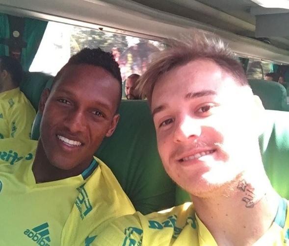 Yerry Mina Róger Guedes Palmeiras