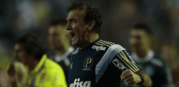 Cuca pode escalar equipe mista contra o Grêmio dependendo de avaliação física - César Greco/Ag. Palmeiras