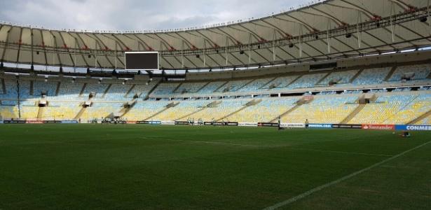 Maracanã não vai estar aberto para o clássico carioca deste próximo domingo