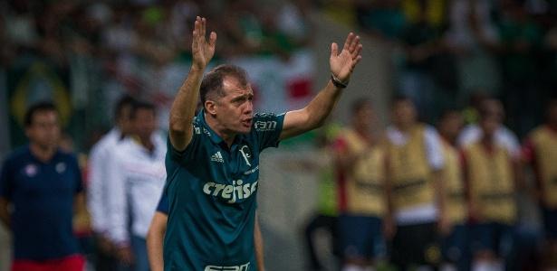 Eduardo Baptista aprovou o espírito demonstrado pelo Palmeiras no jogo