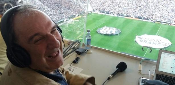 Osmar Santos assistirá à partida entre Corinthians e Ponte em Itaquera