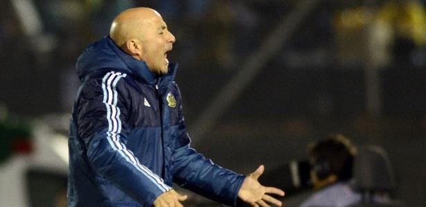 Jorge Sampaoli assinará contrato com o Santos por duas temporadas - Carlos Pazos/Reuters