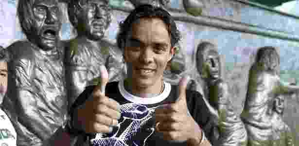 Lucio atuou pelo Palmeiras entre os anos de 2003 e 2007 - José Patrício/Folha Imagem