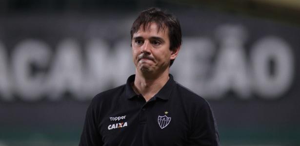 Treinador valorizou o volume de jogo construído pelo Atlético-MG contra a URT
