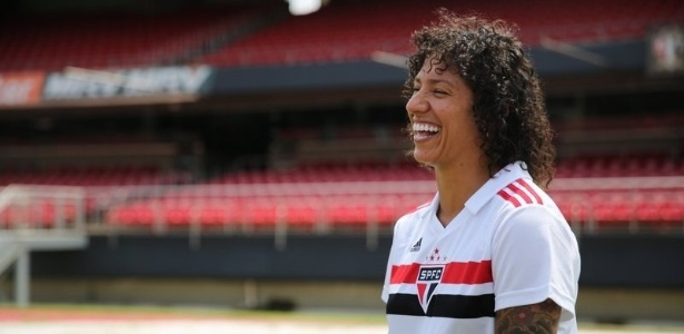 Cristiane chega para ser a estrela do time feminino do Tricolor Paulista - Renata Damasio/saopaulofc.net
