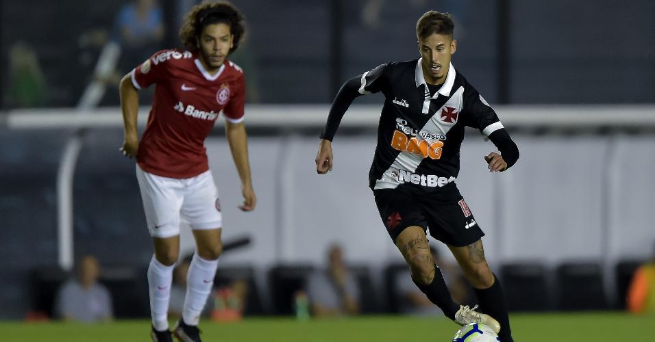 Vasco x Internacional pelo Campeonato Brasileiro