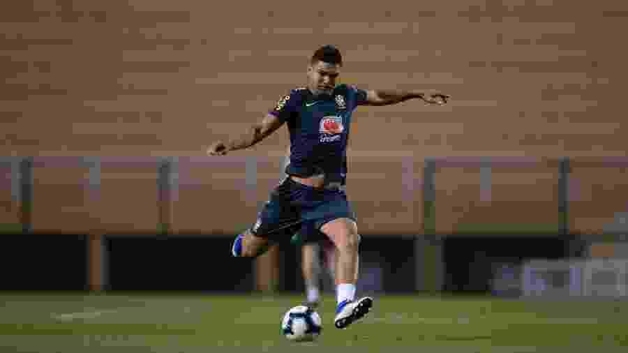 O volante Casemiro está entre os batedores de falta da seleção brasileira  - Lucas Figueiredo/CBF