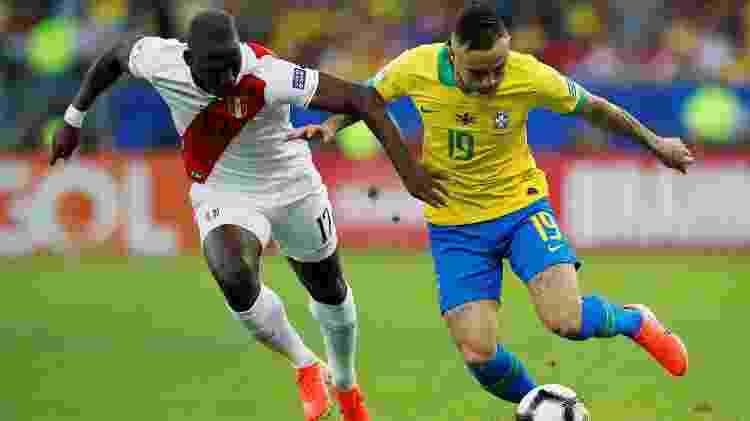 Everton foi destaque do Brasil na Copa América e artilheiro do torneio - REUTERS/Luisa Gonzalez