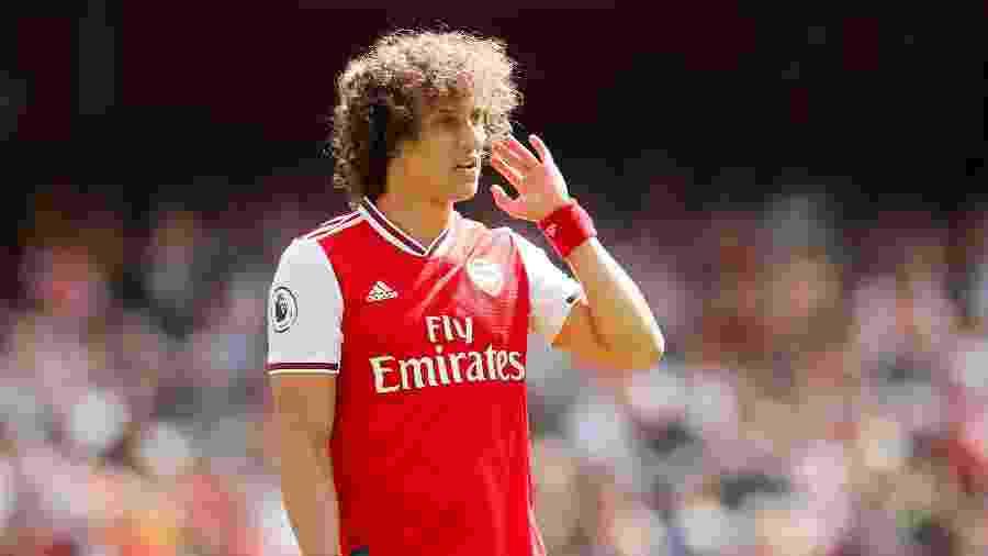 David Luiz em ação pelo Arsenal - David Klein/Reuters