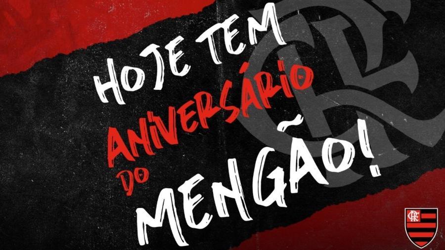 Confira homenagens no Twitter aos 124 anos do Flamengo