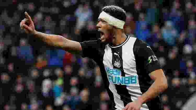 Joelinton custou quase R$ 190 milhões ao Newcastle. Tem dois gols em 27 jogos até agora - Lee Smith/Action Images via Reuters