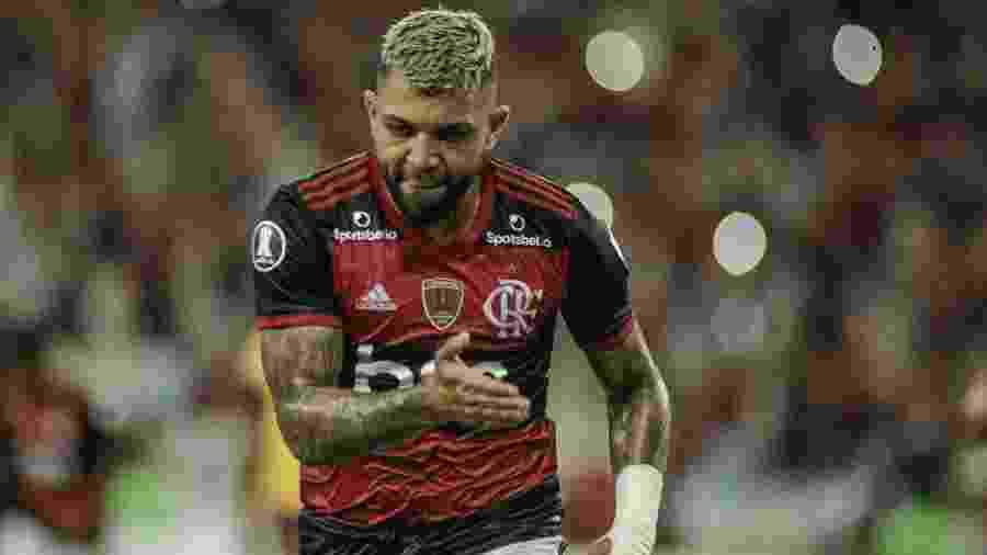 Gabigol faz o segundo do Flamengo contra o Barcelona pela Libertadores, que continua sendo disputada - Allan Carvalho/AGIF