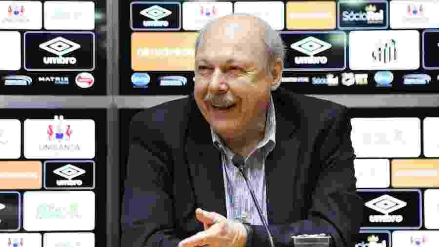 José Carlos Peres, presidente do Santos - Pedro Ernesto Guerra Azevedo/Santos FC