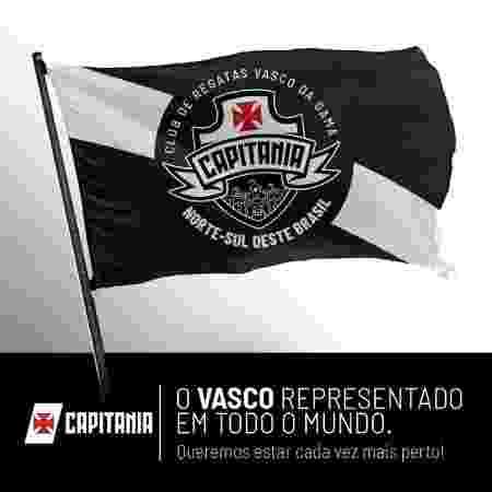 Vasco lança projeto voltado aos torcedores de fora do Rio de Janeiro - Reprodução