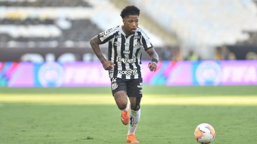 Marinho, atacante do Santos, foi eleito o melhor jogadores da Libertadores 2020 - Ivan Storti/Santos FC