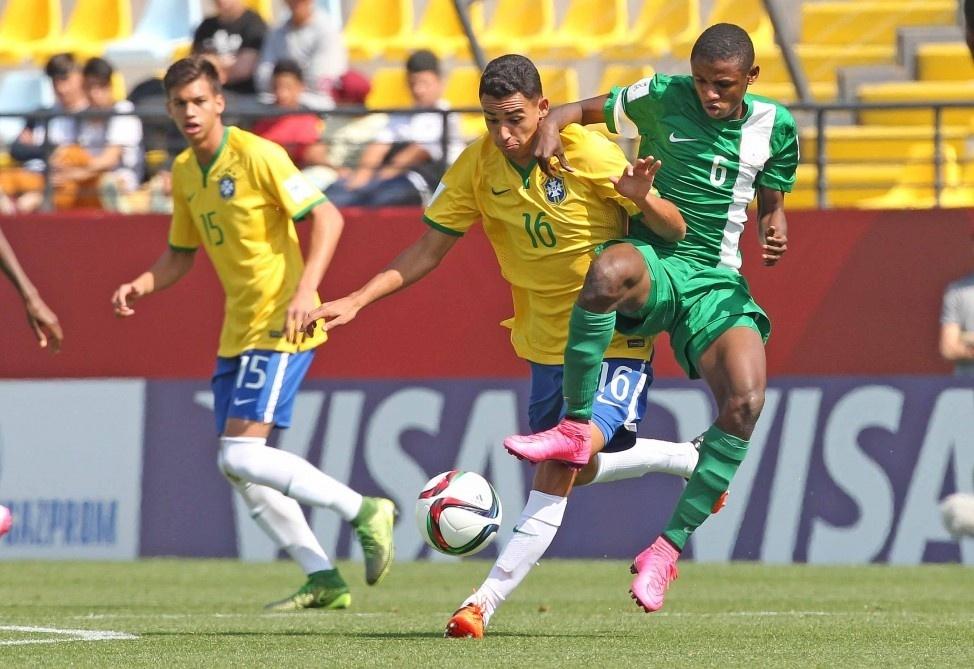 Brasil e Nigéria se enfrentam pela Copa do Mundo sub-17