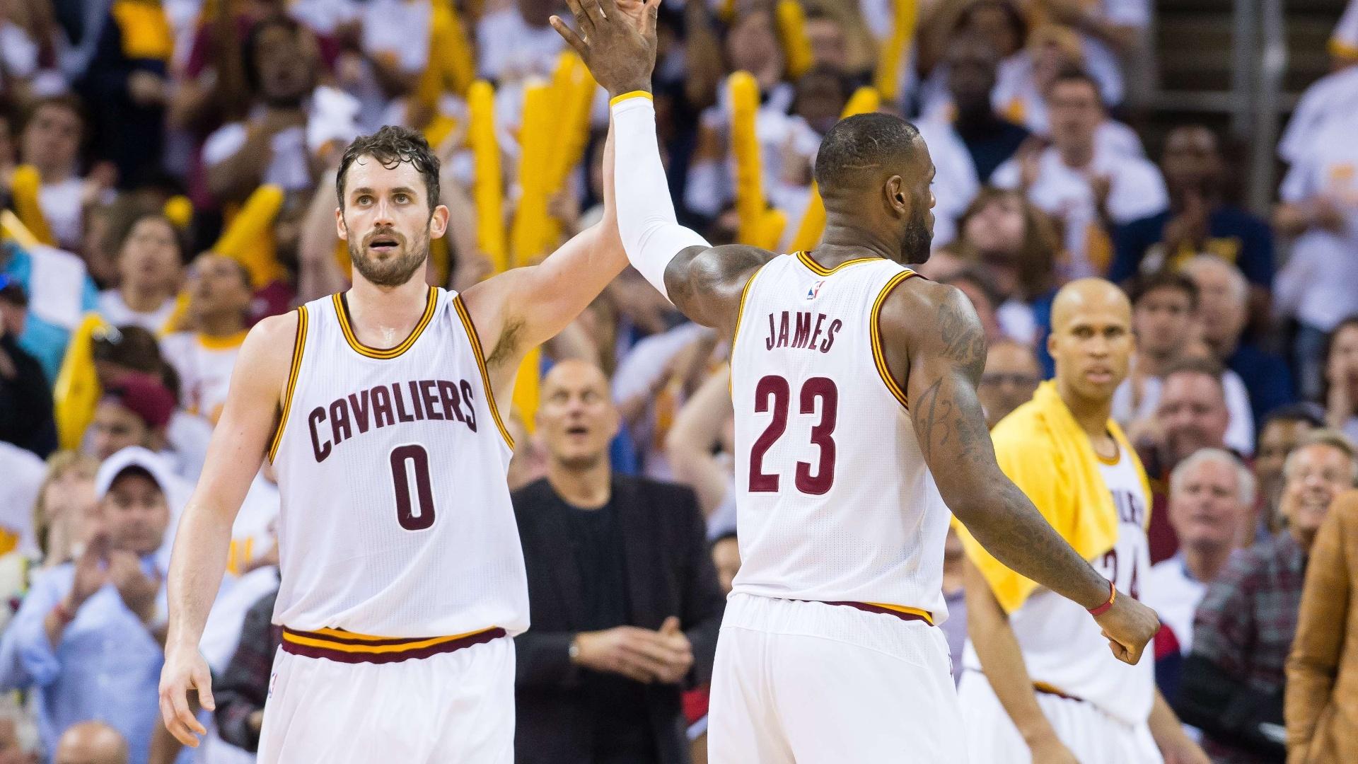 Cleveland Cavaliers saiu na frente nos playoffs da Conferência Leste