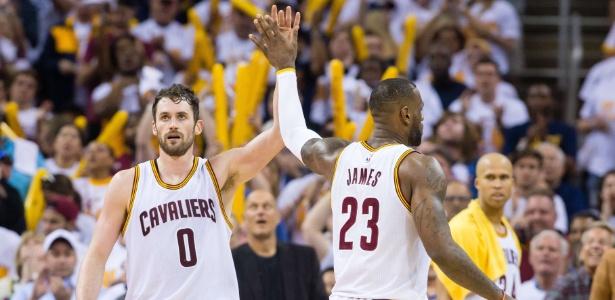 Cleveland Cavaliers saiu na frente nos playoffs da conferencia-leste - Jason Miller/Getty Images