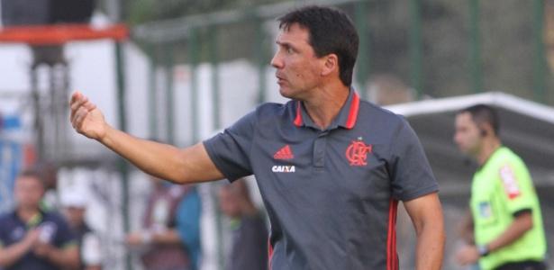 Zé Ricardo já definiu a escalação do Flamengo para a partida contra a Chapecoense