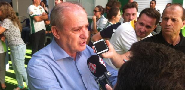 Ivan Tozzo, presidente da Chapecoense, foi contra a ajuda