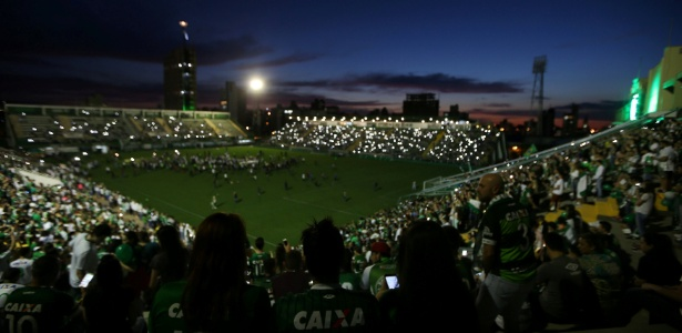Arena Condá receberá velório das vítimas do acidente aéreo
