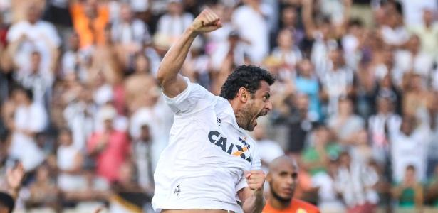 Fred comemora gol contra o Democrata, em Governardo Valadares - Bruno Cantini/Atlético