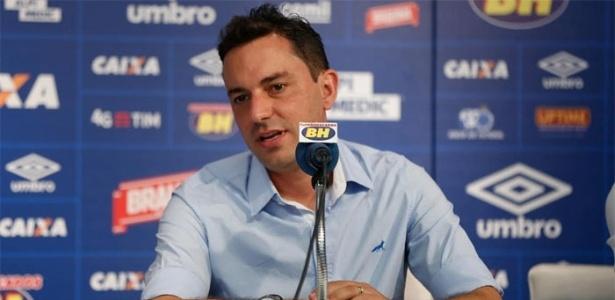 Diretor de futebol encerrará suas atividades no Cruzeiro e dará lugar a Marcelo Djian